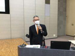 「令和2年度年末調整のしかた」を説明中の千葉南税務署 岡田法人課税第二部門審理担当上席