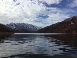 秘境奥只見湖遊覧風景