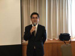 説明中の小堀千葉南税務署法人課税第一部門審理担当上席
