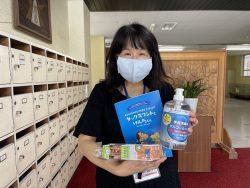 千葉市立泉谷小学校へ支援品贈呈