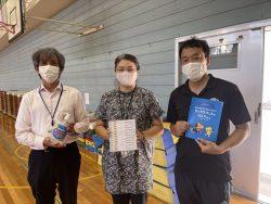 千葉市立土気南小学校へ支援品贈呈