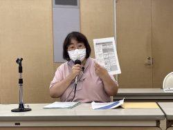 説明中の関谷法人課税第一部門上席調査官