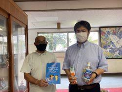 千葉市立大巌寺小学校へ支援品贈呈