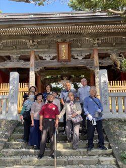 第39番 金剛福寺にて記念撮影
