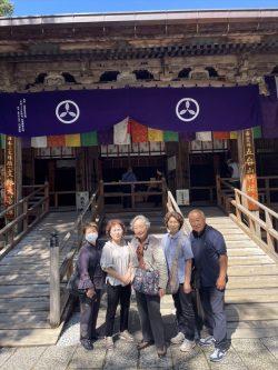第31番竹林寺にて記念撮影