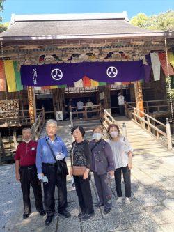 第31番 竹林寺にて記念撮影